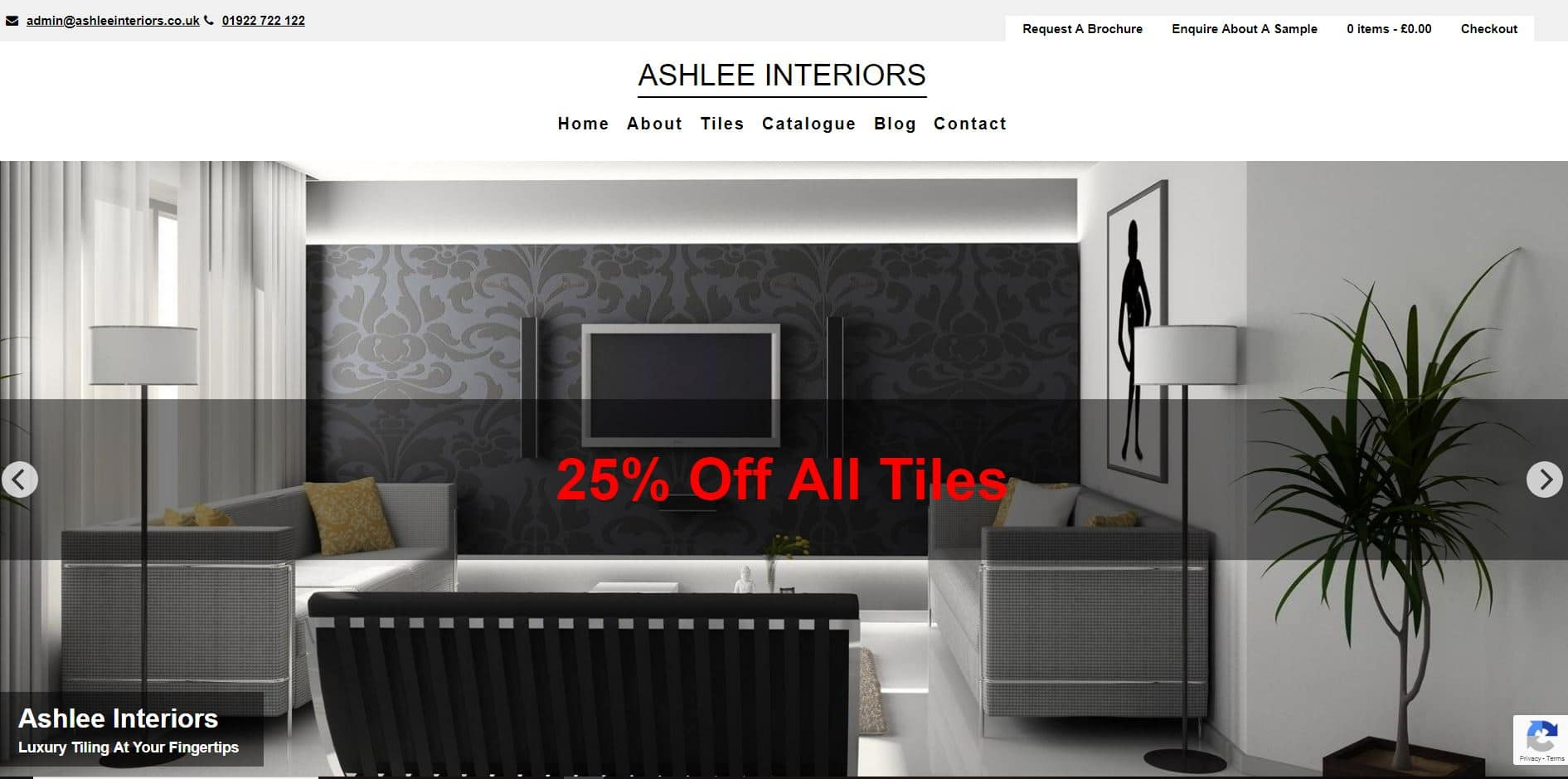 eCommerce Websites Ashley Interiors